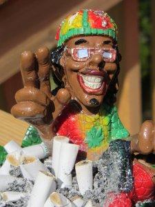 Yo! Asta e scrumiera - bahamiana pe care am adus-o cu noi din Caraibe :D
