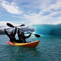 IS: Kayaking among Icebergs